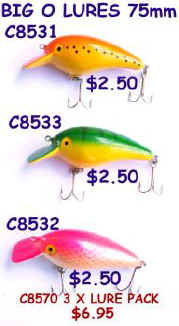 CITER 75MM LURES